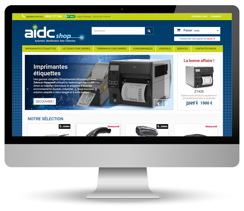 aidcshop - site e-commerce