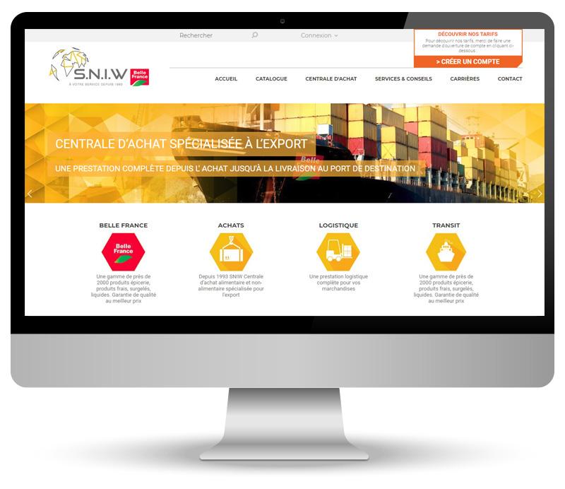 Centrale Achat Export – site e-commerce