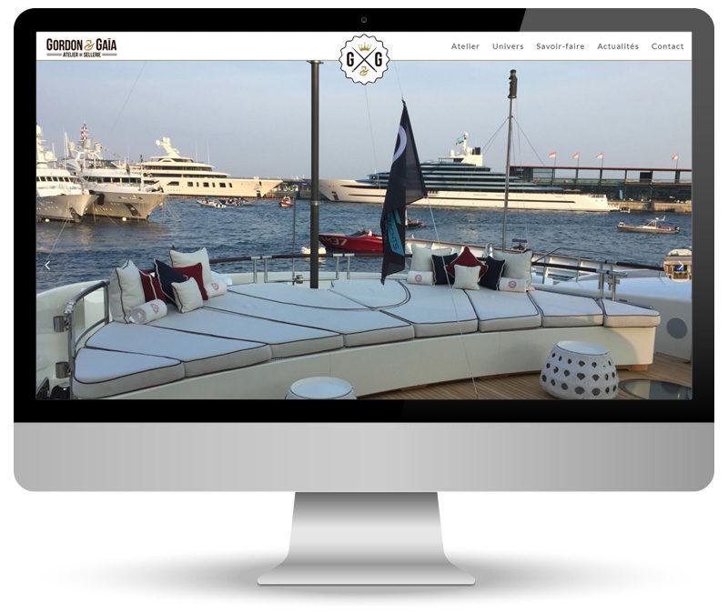 Site vitrine wordPress pour Gordon & Gaïa