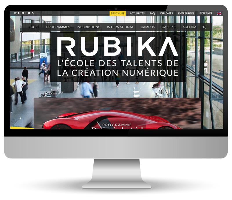 Rubika - site vitrine