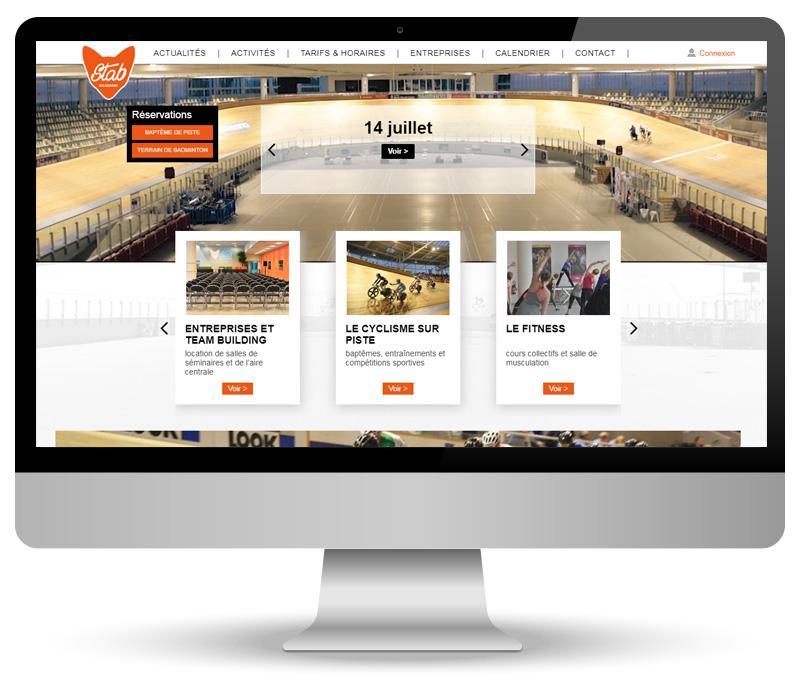 Réalisation d'un site e-commerce pour le vélodrome de Roubaix
