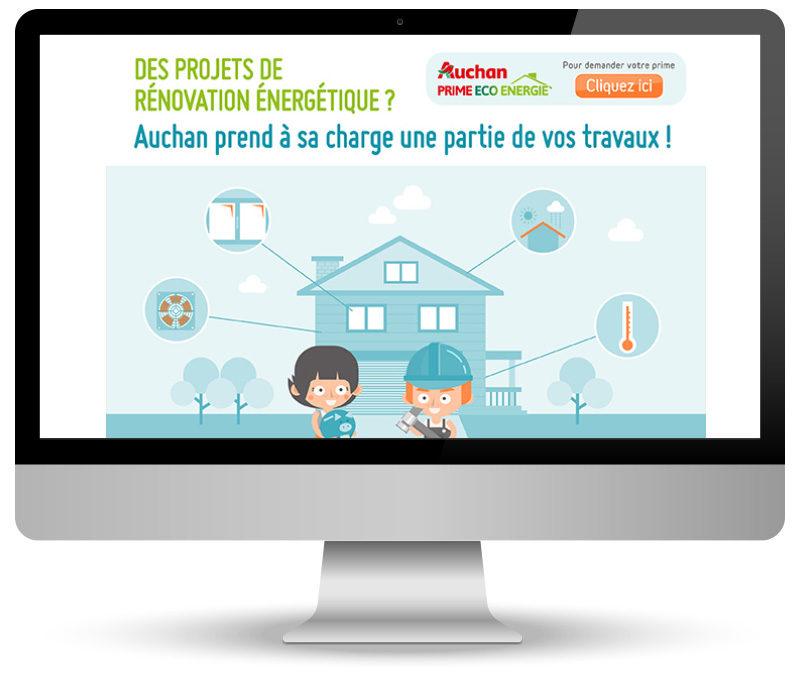 Intégration emailing pour Auchan