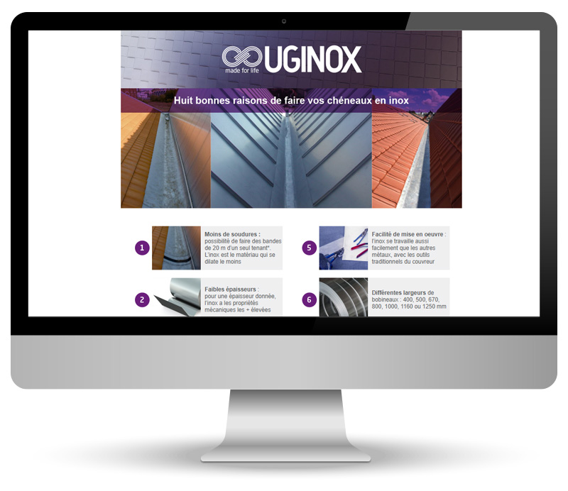 Campagne Emailing pour Uginox